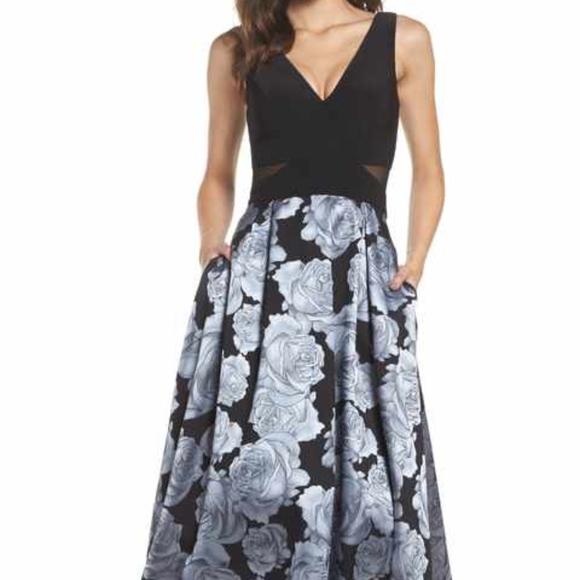 46df6028 Xscape Dresses | Floral Dress | Poshmark